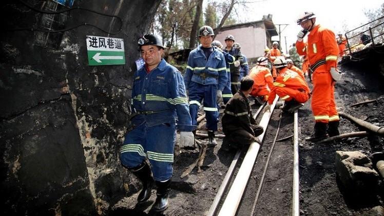 16 قتيلا و11 مصابا بانهيار في منجم فحم شمال غرب الصين