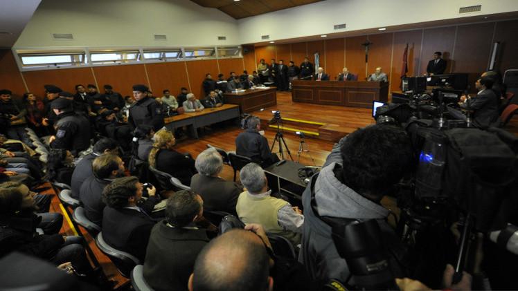 أحكام صارمة على جرائم ضد الإنسانية في الأرجنتين