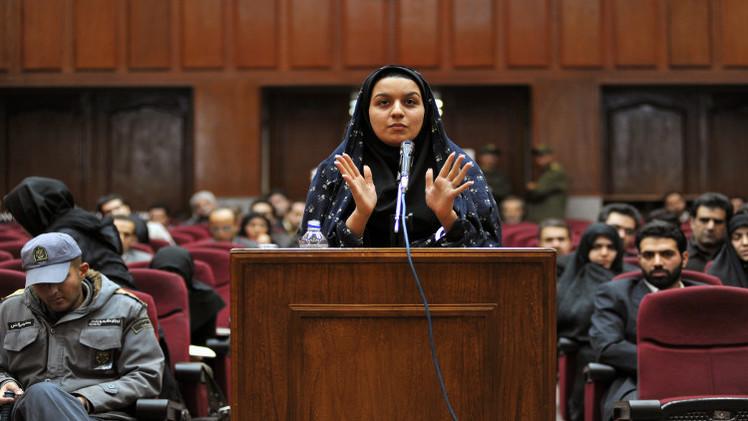إعدام إيرانية قتلت مغتصبها