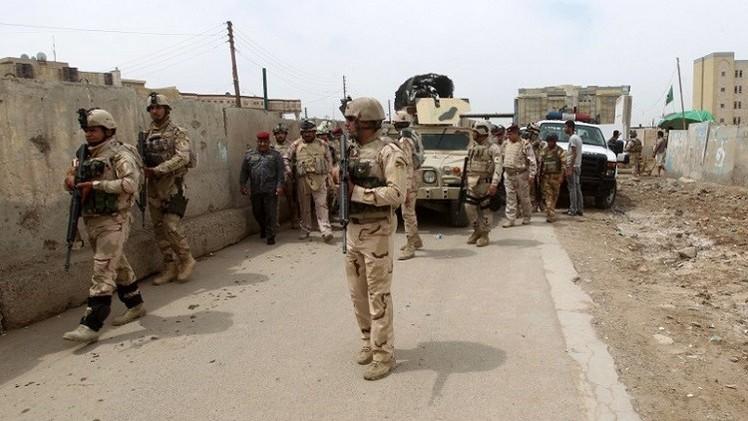 مقتل وإصابة 30 جنديا بتفجير شمال بغداد