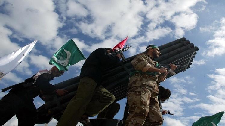 إسرائيل: حماس أجرت تجربة إطلاق صاروخ باتجاه البحر