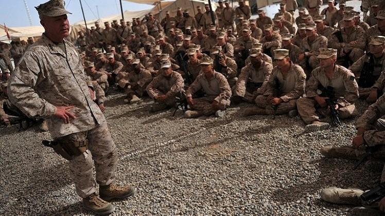 إنتهاء عمليات المارينز الأمريكية والقوات القتالية البريطانية في أفغانستان