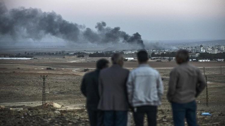 المقاتلون الأكراد يصدون هجوما رابعا لداعش على عين العرب