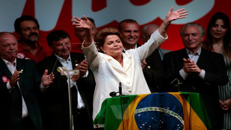 فوز روسيف برئاسة ثانية للبرازيل