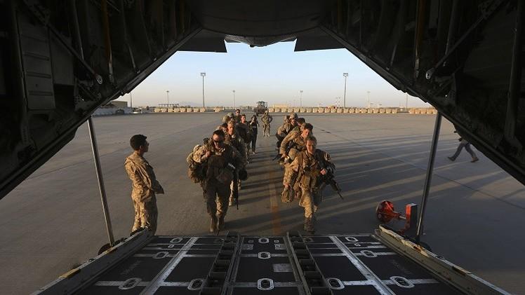 آخر الوحدات الأمريكية والبريطانية  تغادر ولاية هلمند الأفغانية