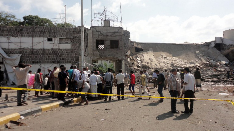 مقتل 20 حوثيا  بهجوم انتحاري وسط اليمن