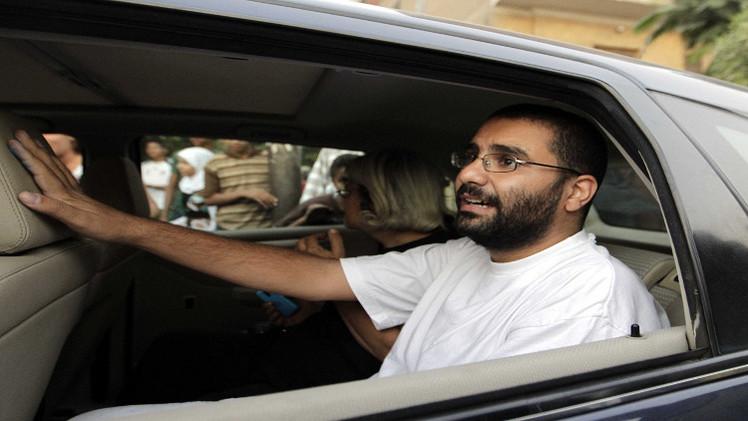 محكمة مصرية تأمر بإعادة حبس الناشط اليساري علاء عبد الفتاح