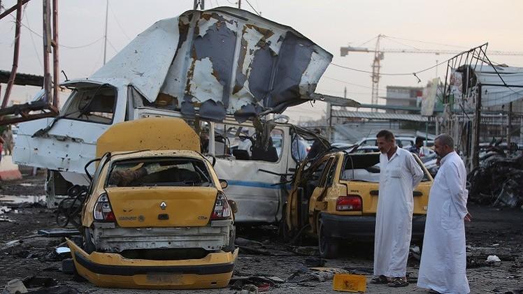 15 قتيلا بانفجار سيارة مفخخة في الكرّادة وسط بغداد
