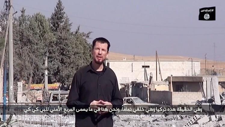 بريطاني مخطوف لدى داعش يؤكد سيطرة التنظيم على عين العرب