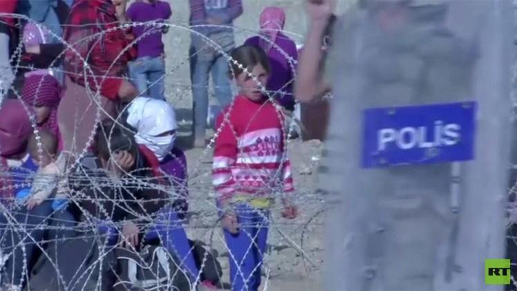 طاقة الدول المجاورة لسوريا على استضافة اللاجئين تكاد تصل إلى مداها