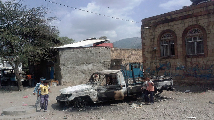 مراسلنا: 8 قتلى في مواجهات بين الحوثيين وقبائل في إب