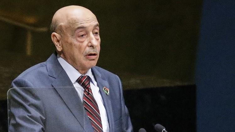 رئيس مجلس النواب الليبي يستقبل السفير الروسي