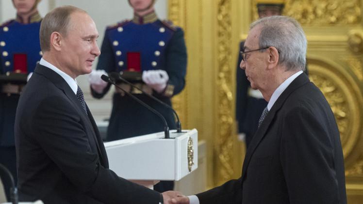 بوتين يهنئ بريماكوف بعيد ميلاده الـ 85