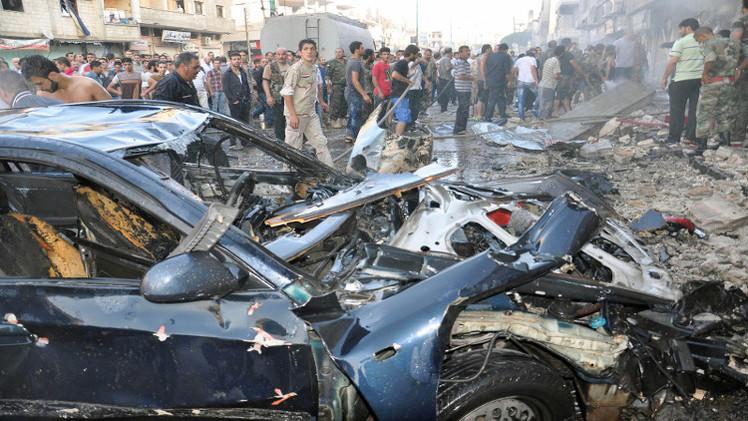 قتلى وجرحى في انفجار سيارة مفخخة بحمص السورية