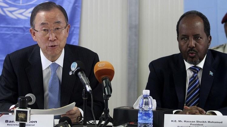 بان كي مون: الصومال تواجه خطر المجاعة