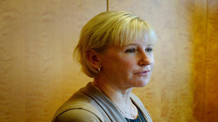 الإسرائيليون يرفضون استقبال وزيرة خارجية السويد