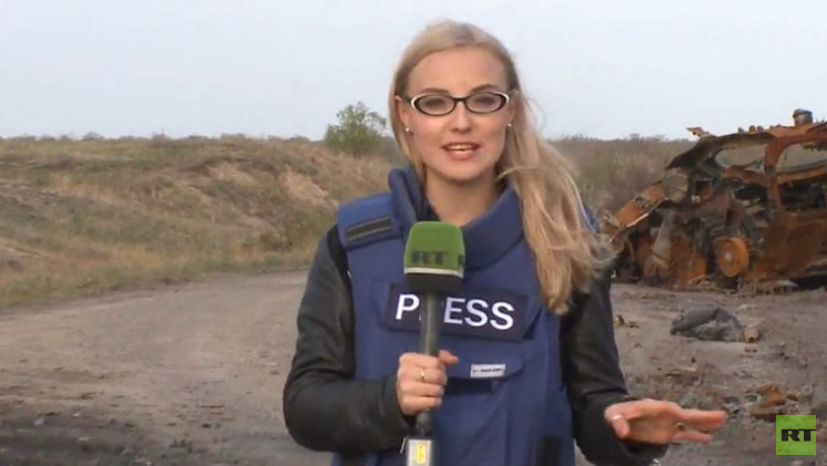القوات الأوكرانية تستهدف فريق RT بالهاون شمالي لوغانسك