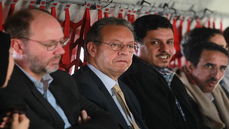 المبعوث الأممي يبحث في اليمن تنفيذ بنود اتفاق السلم