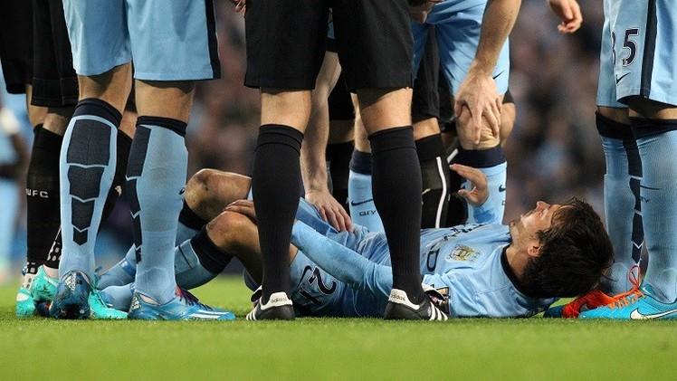 الإسباني سيلفا يغيب عن ديربي مانشستر للإصابة