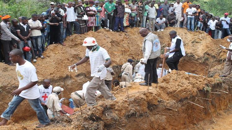 14 قتيلا بهجوم جماعة مسلحة على قرية في الكونغو الديمقراطية