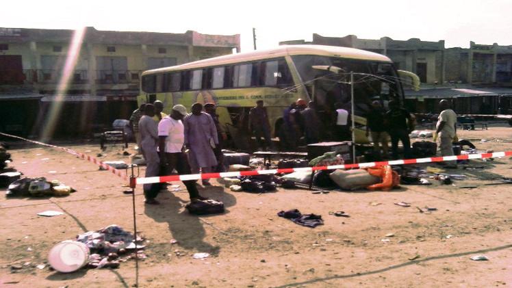 8 قتلى بتفجير  3 قنابل في محطة حافلات شمال نيجيريا