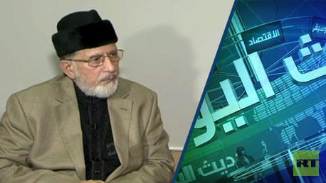 طاهر القادري رئيس مؤسسة منهاج القرآن الدولية