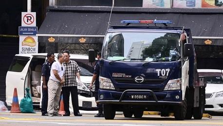 إصابة 14 شخص في انفجار قرب حانة في ماليزيا