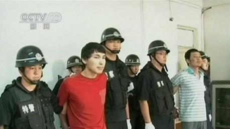 متهمون بتورطهم في أعمال العنف في منطقة شينجيانغ