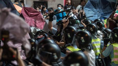 اشتباكات في هونغ كونغ