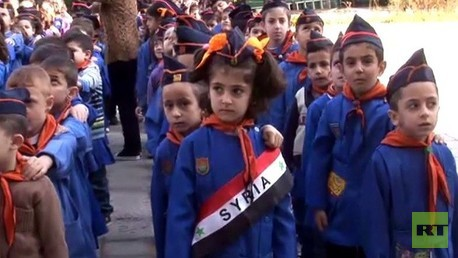 معالجة الآثار النفسية لدى أطفال المدارس نتيجة التفجيرات