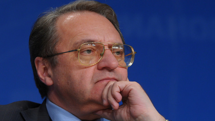 تعيين ميخائيل بوغدانوف مبعوثا رئاسيا خاصا في إفريقيا والشرق الأوسط