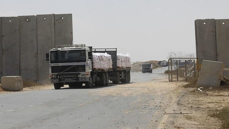 إسرائيل تغلق المعابر مع قطاع غزة