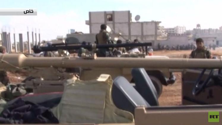 قناة RT تنفرد بصور حصرية لقوات البيشمركة داخل مدينة عين العرب