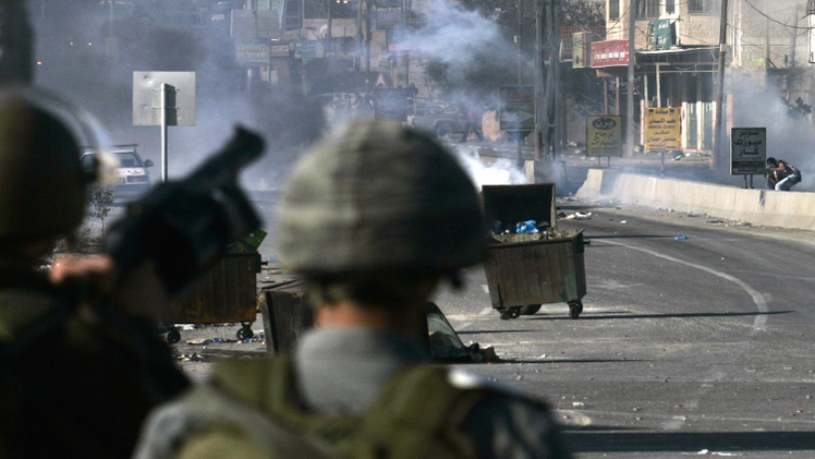 وقوع إصابات جراء اشتباكات شمال القدس