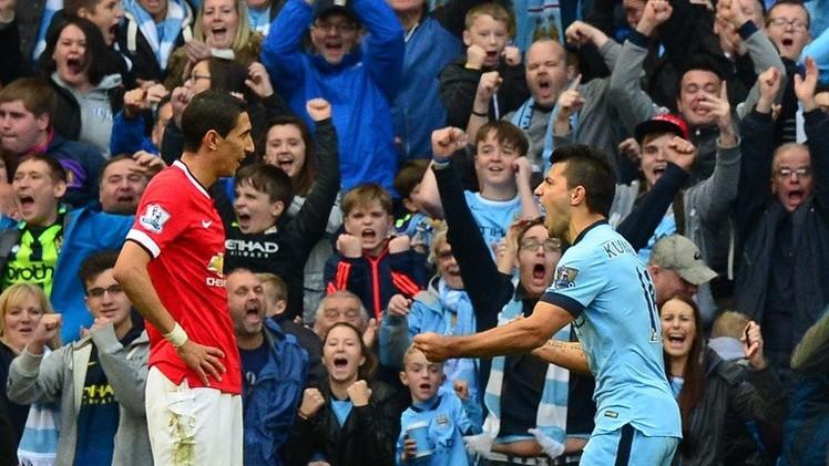 أغويرو يقود السيتي لفوز قاس على مانشستر يونايتد