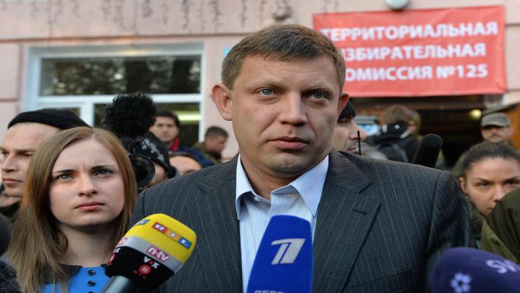 تقدم زاخارتشينكو  مع بدء فرز الأصوات في رئاسية دونيتسك