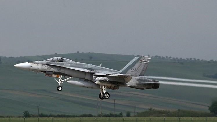 كندا تنفذ أولى ضرباتها الجوية ضد داعش في العراق