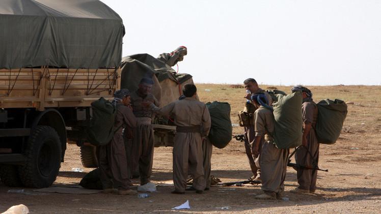 البيشمركة تشارك للمرة الأولى في المعارك بعين العرب
