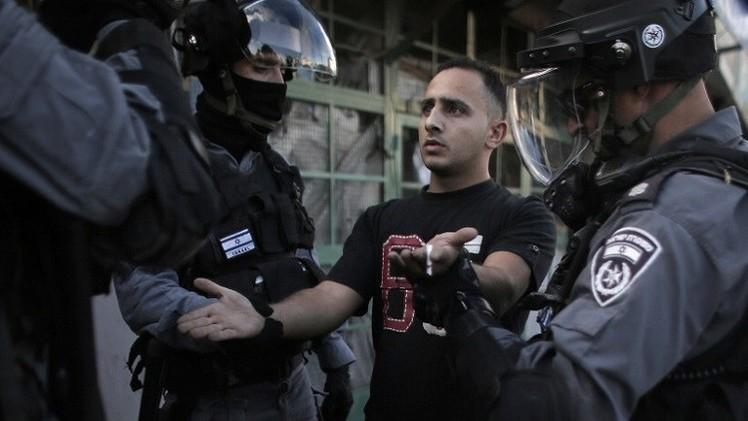 الشرطة الإسرائيلية تعتقل 23 فلسطينيا في القدس