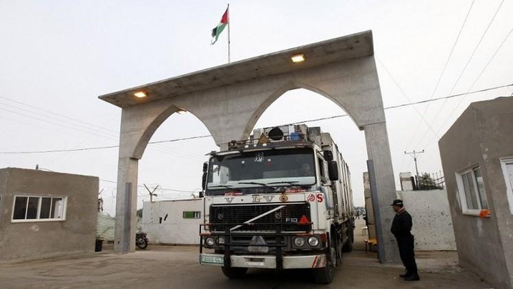 إسرائيل تعيد فتح المعابر مع قطاع غزة