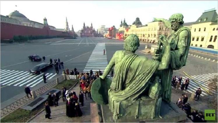 روسيا تحتفل بـ
