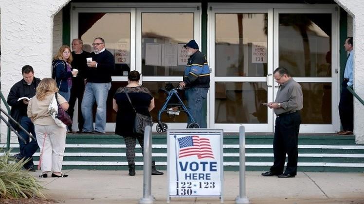 بدء انتخابات التجديد النصفي في الولايات المتحدة