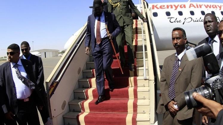 رئيس جنوب السودان يتأخر في العودة الى بلاده بسبب.. الحظ السيء