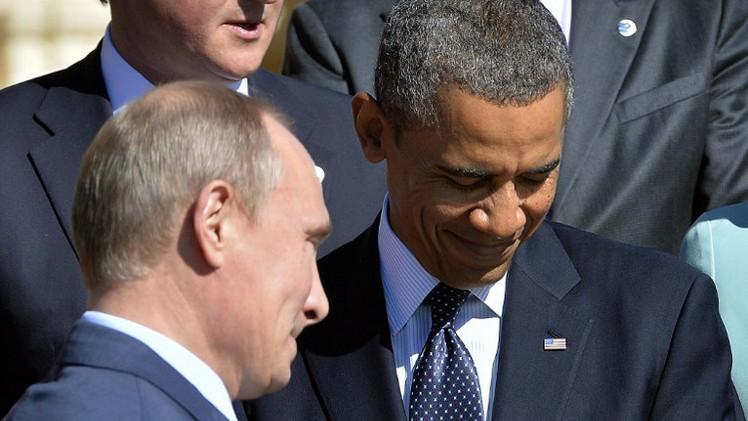 الكرملين لا يستبعد عقد لقاء بين بوتين وأوباما الشهر الحالي