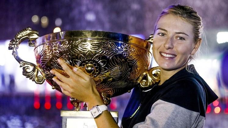 الروسية شارابوفا الأعلى أجرا في العالم بين السيدات