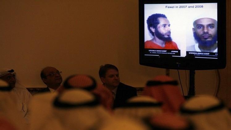 معتقل كويتي في غوانتانامو يعود الى بلاده