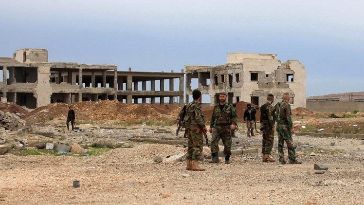 الجيش السوري يستعيد السيطرة على شركة حيان للغاز وآبار جحار والمهر بحمص