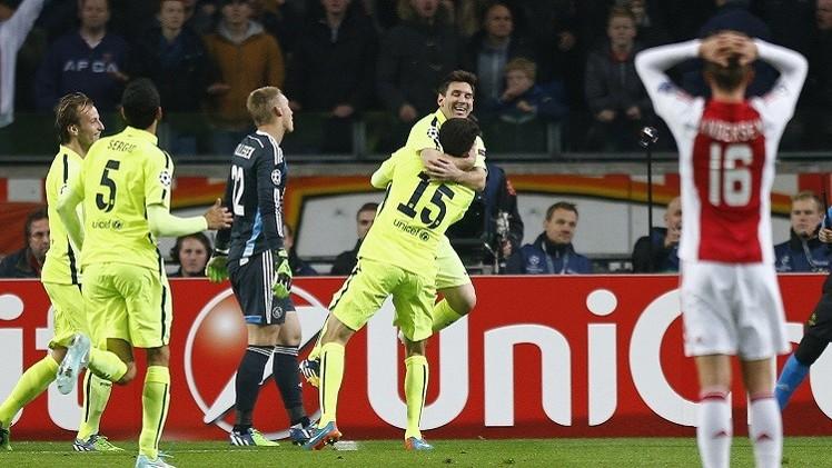 ميسي يقود برشلونة إلى دور الـ 16 للتشامبيونز ليغ ويحطم رقم راؤول