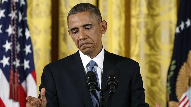 أوباما: الولايات المتحدة لا تتدخل في الشأن الداخلي السوري
