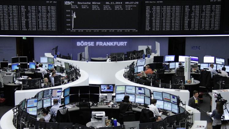 المؤشرات الأوروبية تتراجع قبيل اجتماع المركزي الأوروبي